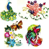 Children's hand made paper, color paper, color cardboard, printing paper, hand drawn card paper, material, paper material