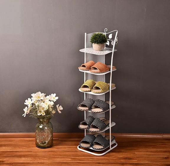 IL fascino speciale di Metallo di Colore multistrato contenente armadi di semplici scarpe di ferro dell'Economia di tipo domestico il Salotto di sei Piani.