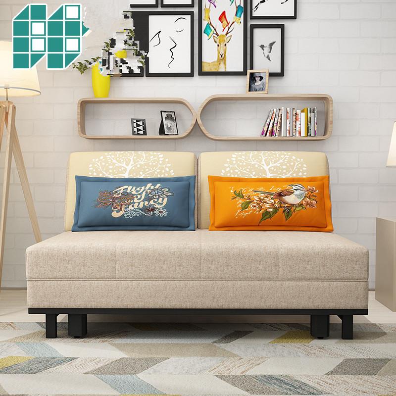 καναπέ κρεβάτι πτυσσόμενου σαλόνι διπλό 1,8 m μονό μικρό διαμέρισμα πολυλειτουργική ή πίεσε και τράβα