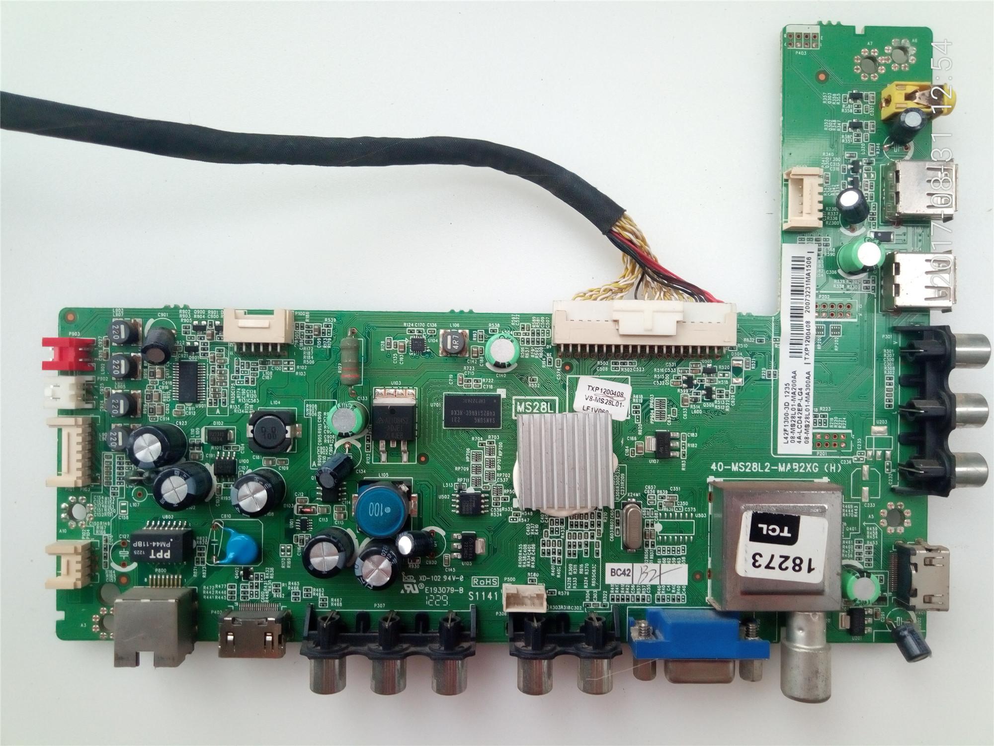 TCLl42f1300-3d42 - Zoll - LCD - TV die hintergrundbeleuchtung hochspannungs - stromnetz - Aufsichtsrat