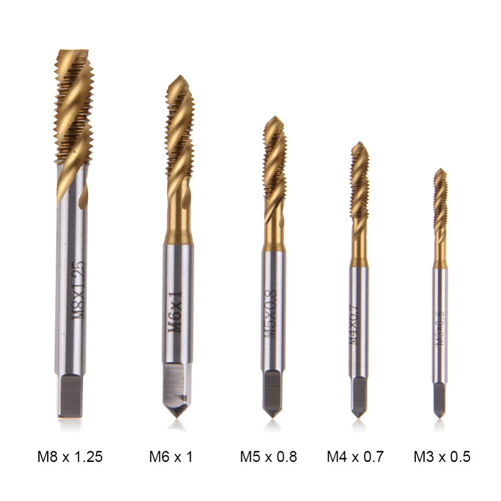 Spiral groove machine tap / wire tap / blind hole tap /M3M4M5M6M8 package
