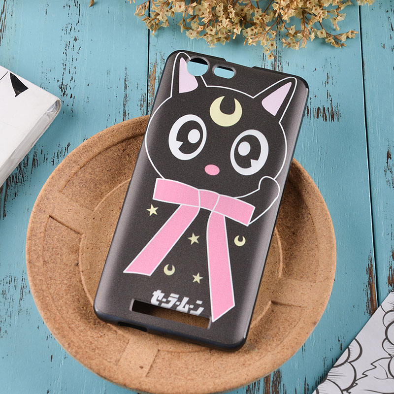 M5 version of the M5 mobile phone shell Jin m5M5 protective sleeve all cartoon black side MM5 soft painted shell