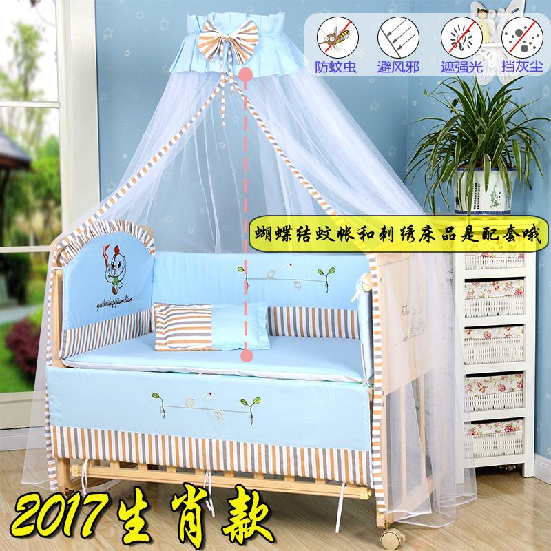 μασίφ ξύλο πολυλειτουργική βρεφική κούνια 0 - 6 ετών, τα παιδιά το μωρό πτυσσόμενο κρεβάτι με ρυθμιζόμενο ύψος με το τροχαίο
