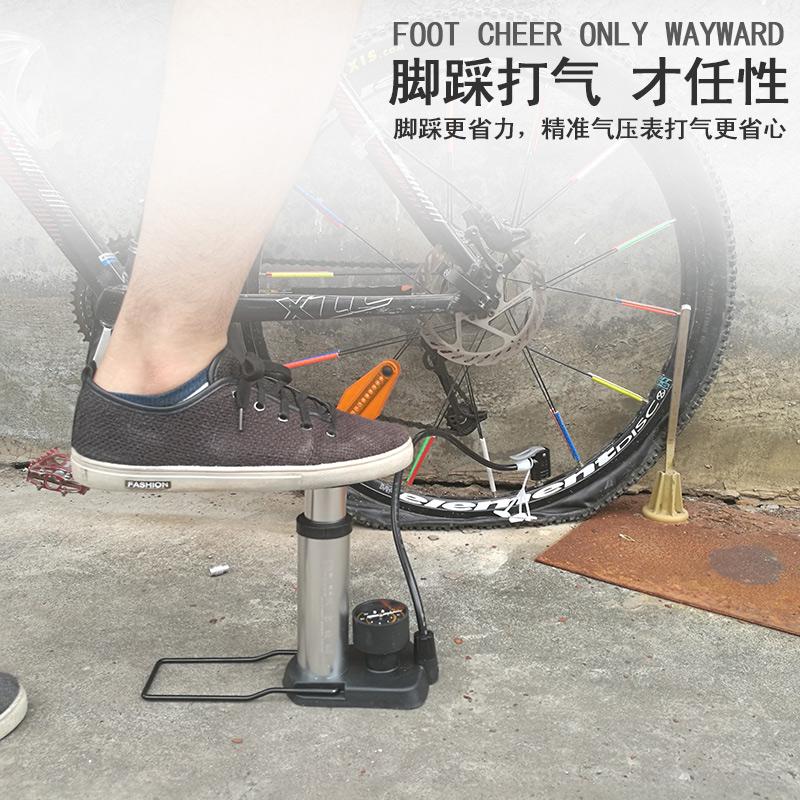 欧耐ปั๊มเท้าแรงดันสูงแบบพกพาจักรยานมินิรถยนต์รถจักรยานยนต์ไฟฟ้าปั๊มบาสเกตบอล