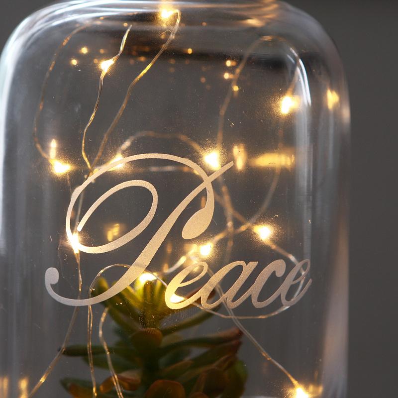 2米田園鄉村風格創意銀色絲線led暖黃燈帶電池盒多用途婚慶浪漫裝飾
