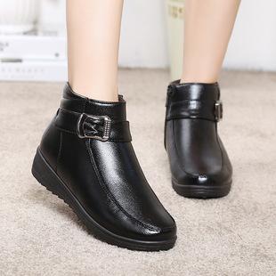 【天天特价】冬款妈妈棉鞋软底防滑中老年棉鞋女大码老人鞋棉鞋