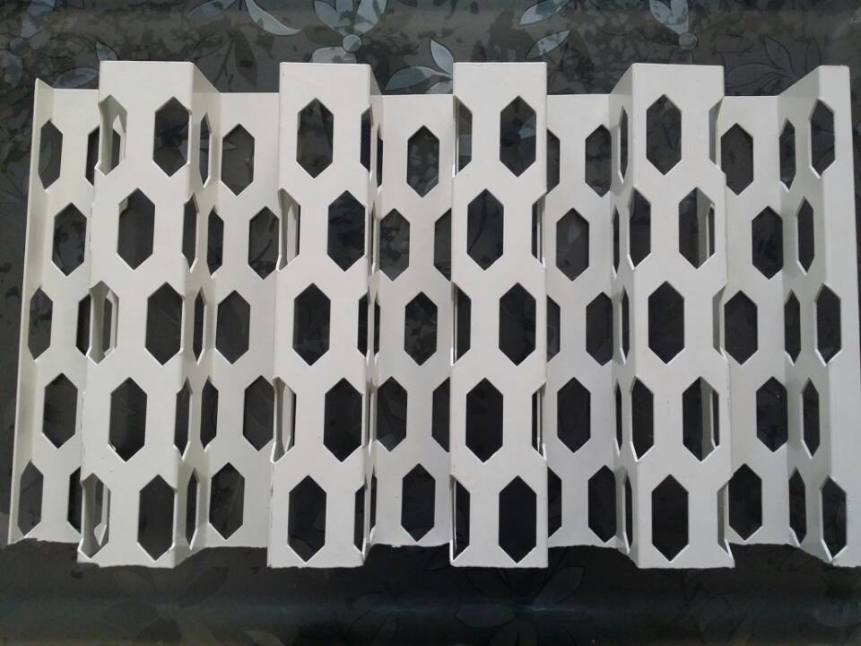La red de tiendas de decoración de paredes de aluminio Audi 4S de golpe la red celular de apertura genuina de los fabricantes de cartón ondulado: