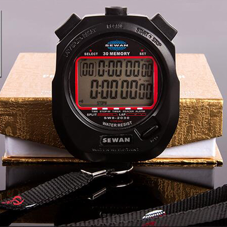 The referee 30 multifunctional double stopwatch stopwatch timer electronic stopwatch stopwatch movement memory