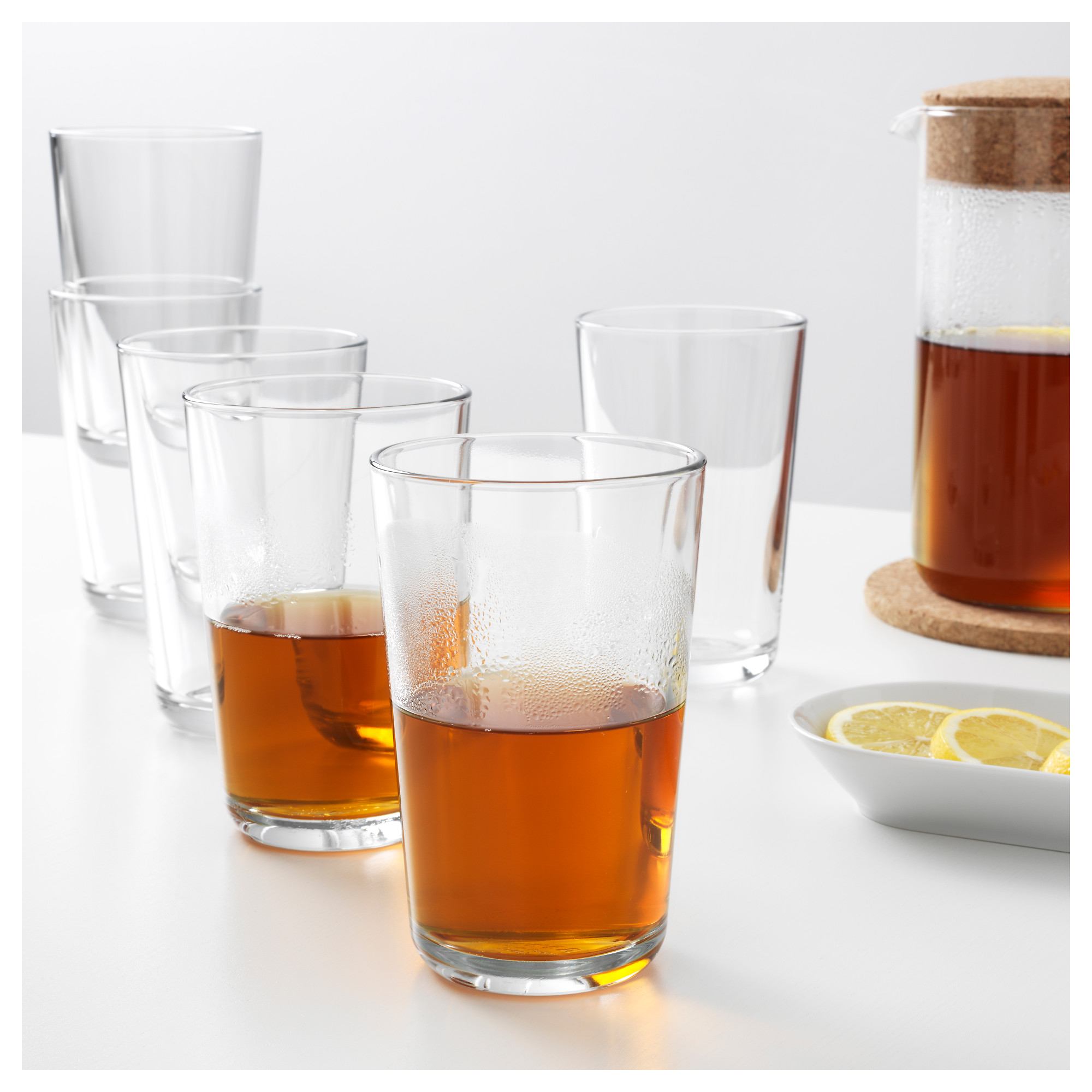 Shanghai IKEA confused domestic purchasing 365+ cup, cup 45 CL 6 pieces of transparent glass