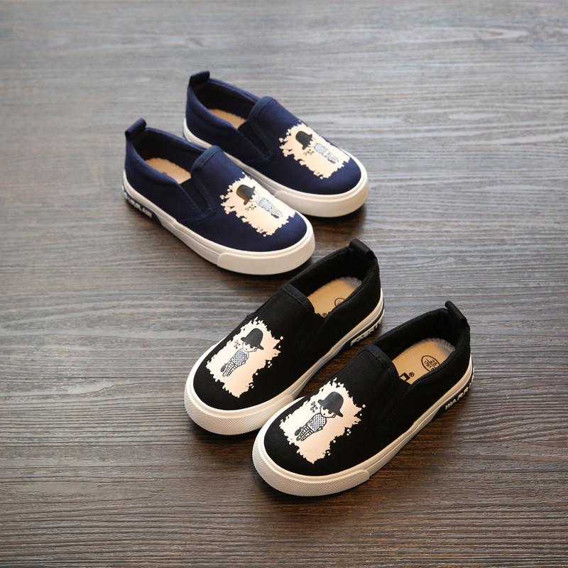 回力童鞋儿童帆布鞋宝宝女童鞋男童鞋一脚蹬小白鞋套脚板鞋学生鞋