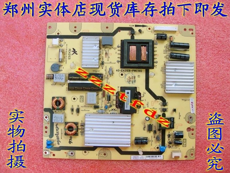 包郵TCL液晶テレビ55型基板L55F3600A-3D電源板40-E421C8-PWC1XG