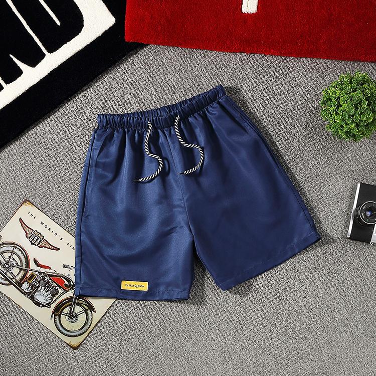 三分裤深蓝