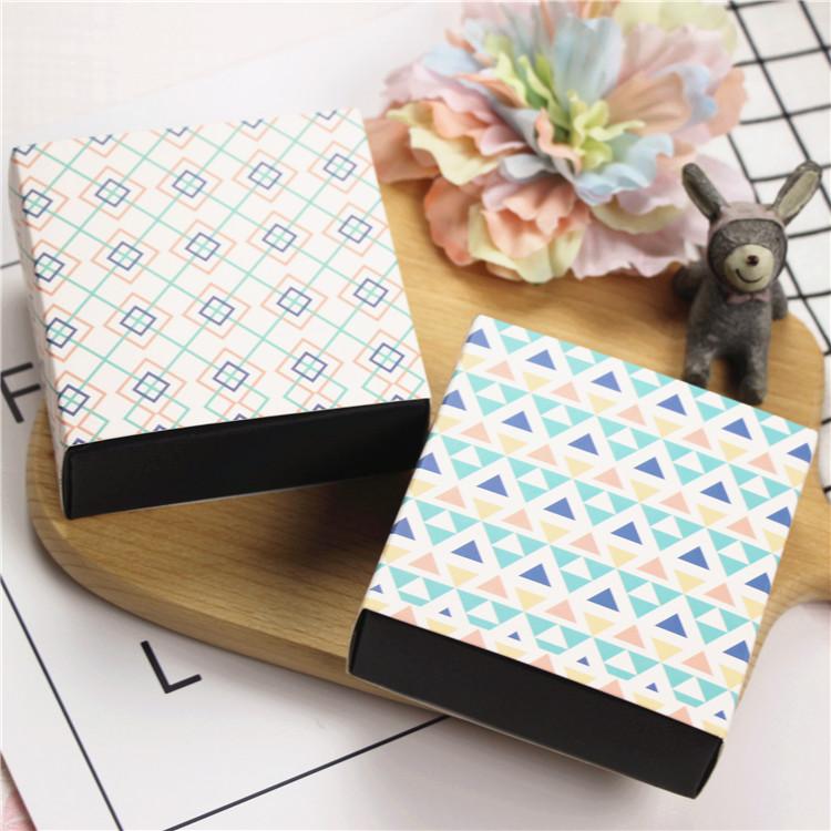afsnit 2 spillere og runde æske chokolade fire håndlavede sæbe 马卡龙 rubrik blomst emballage æske gaveæske
