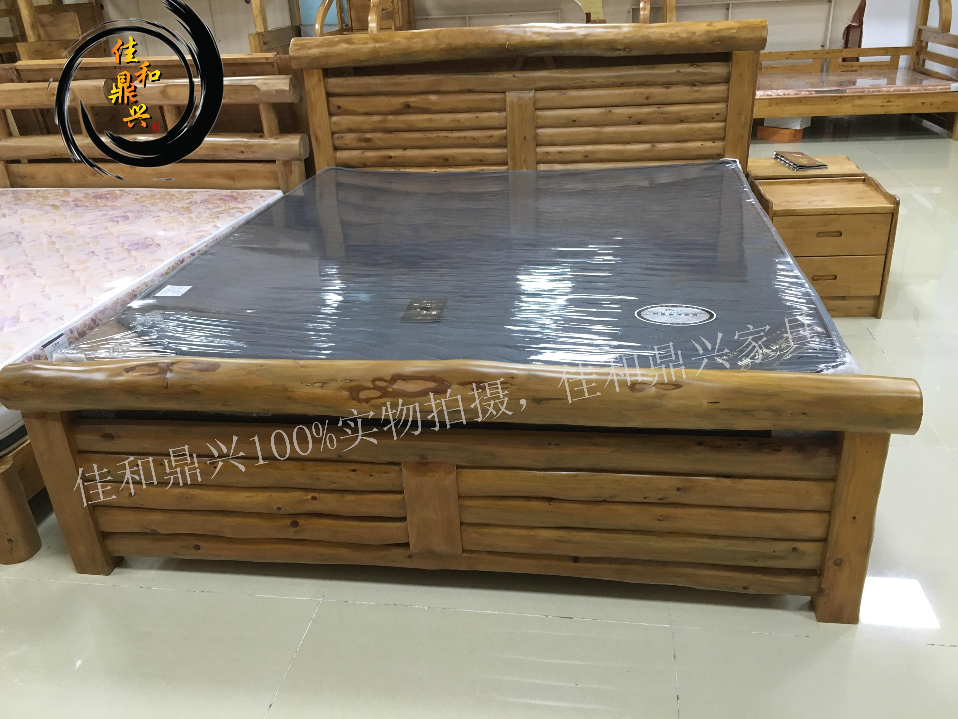 Alle massief hout bed bed cedar moderne Chinese bed cypress originele houten meubels.
