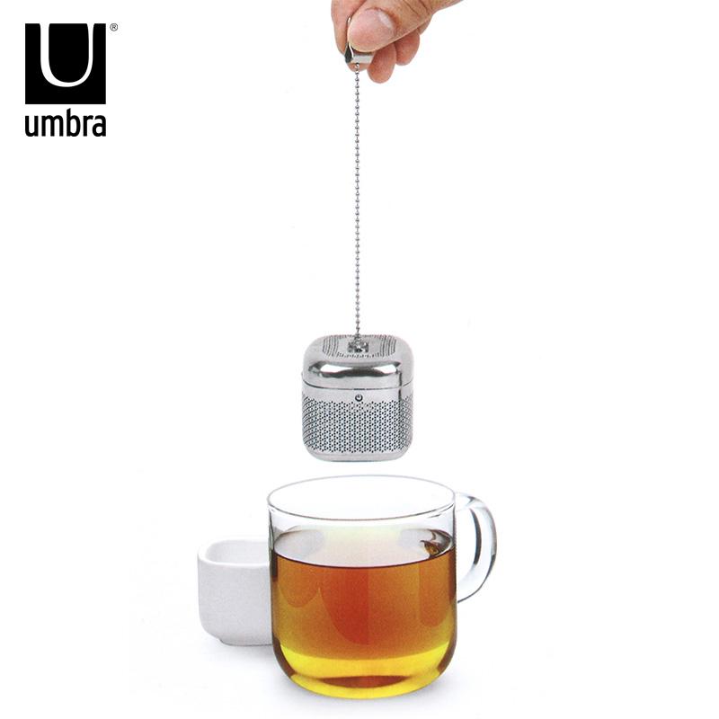 Kanada Umbra Kreative Tee Tee Tee Tee Tee sieb aus rostfreiem Stahl für Tee Tee - Netz.