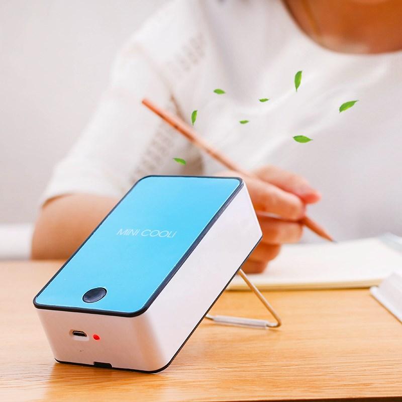 Mini ventilatore portatile di refrigerazione con foglie Di Palma senza refrigerazione portatili ricaricabili con Piccoli impianti di condizionamento dell'Aria