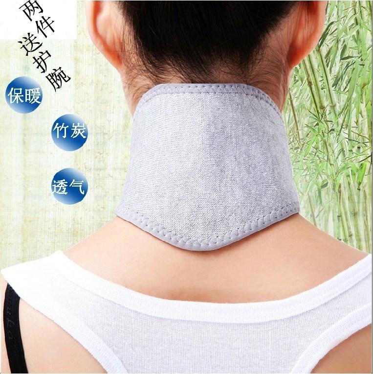 Baumwolle holzkohle Hals im Sommer MIT klimaanlage warm, atmungsaktiv und der Hals Frau Mann, Claus von der Hitze Hals