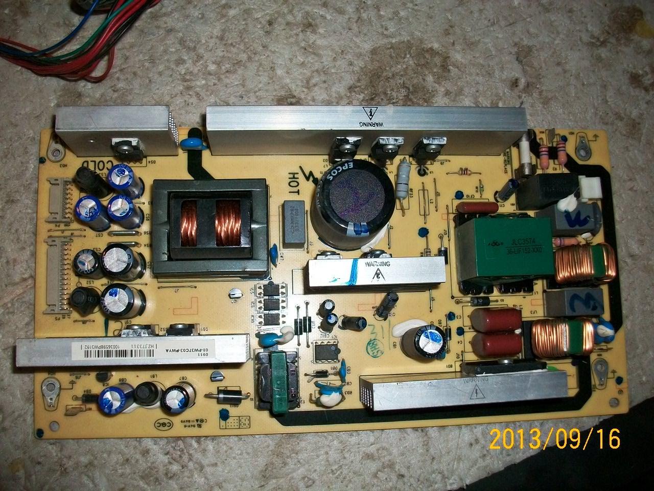 TCL LCD TV L26E9 power board 40-5PL37C-PWC1XG