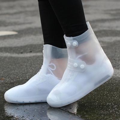 户外鞋套防水雨天加厚防滑雨鞋耐磨雨鞋套成人防水鞋套儿童雨靴