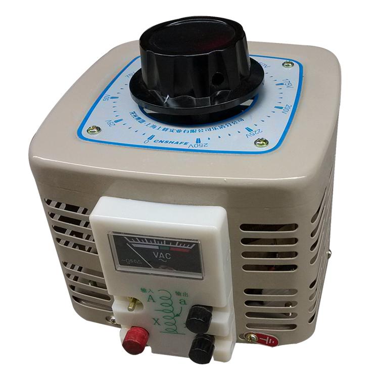 龙光グループTDGC2J単相調圧器じゅうキロワット出力0-250V可変トランス10KW