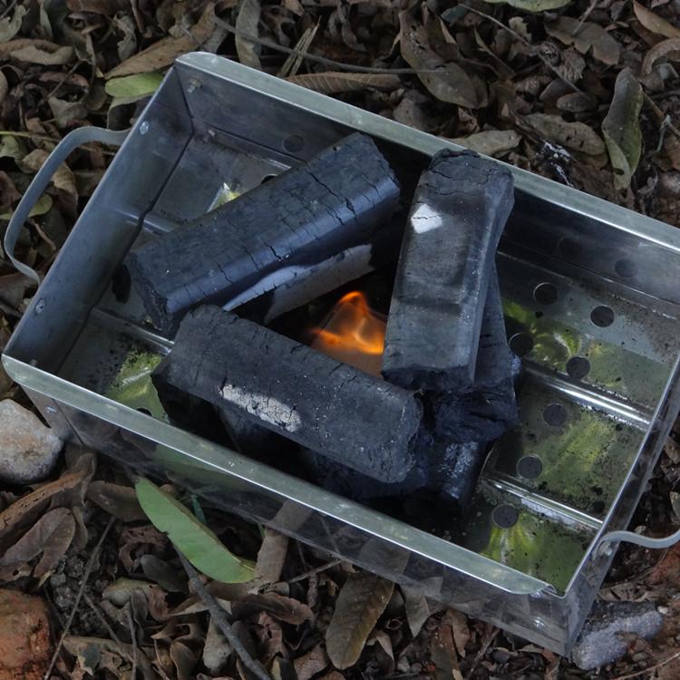 барбекю на открытом воздухе специальный уголь бездымный углерода легковоспламеняющиеся сжечь сопротивление барбекю углерода чистого бамбука порошок углерода уголь топлива