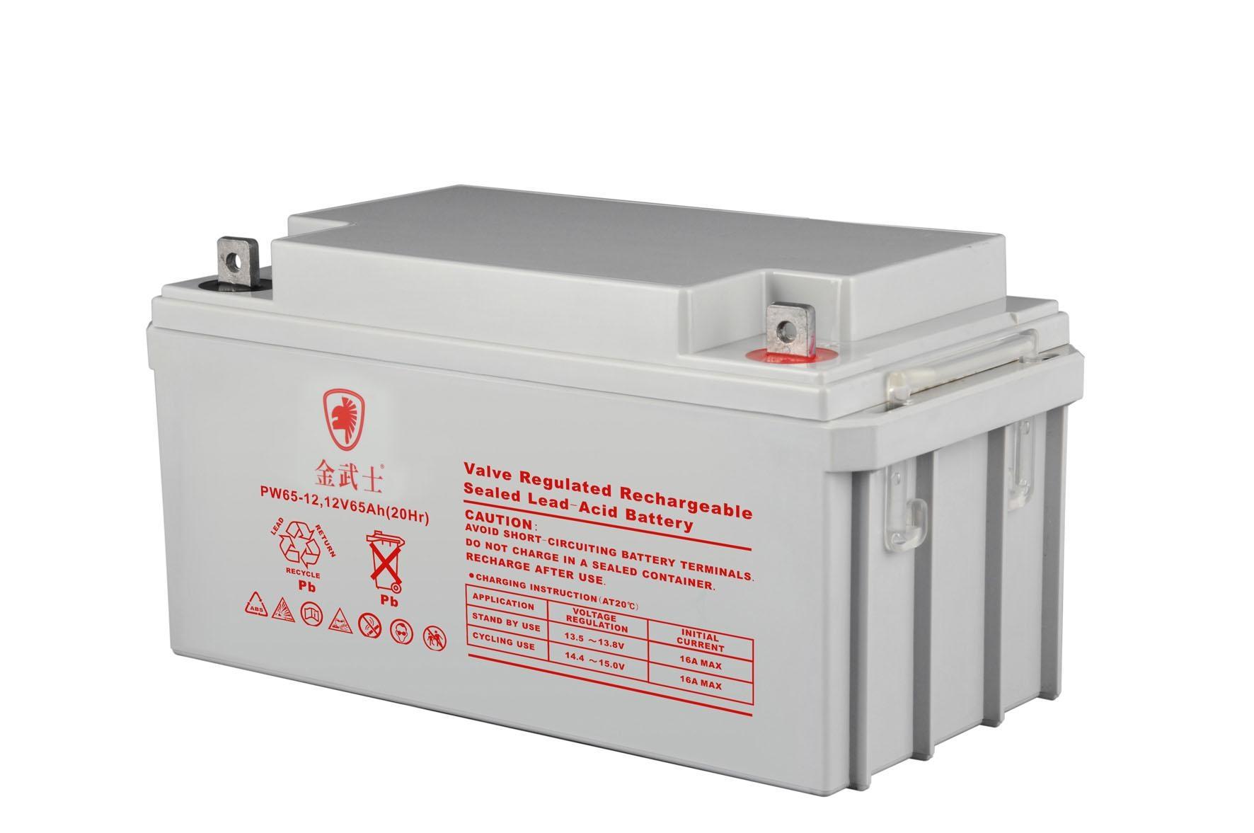 El oro auténtico Samurai 12V65AH baterías UPS. Corriente continua de la batería de repuesto de bomberos de acogida