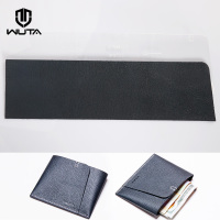 19WT simple wallet material package, short wallet, semi finished card, foreskin, semi tanned leather material WT929