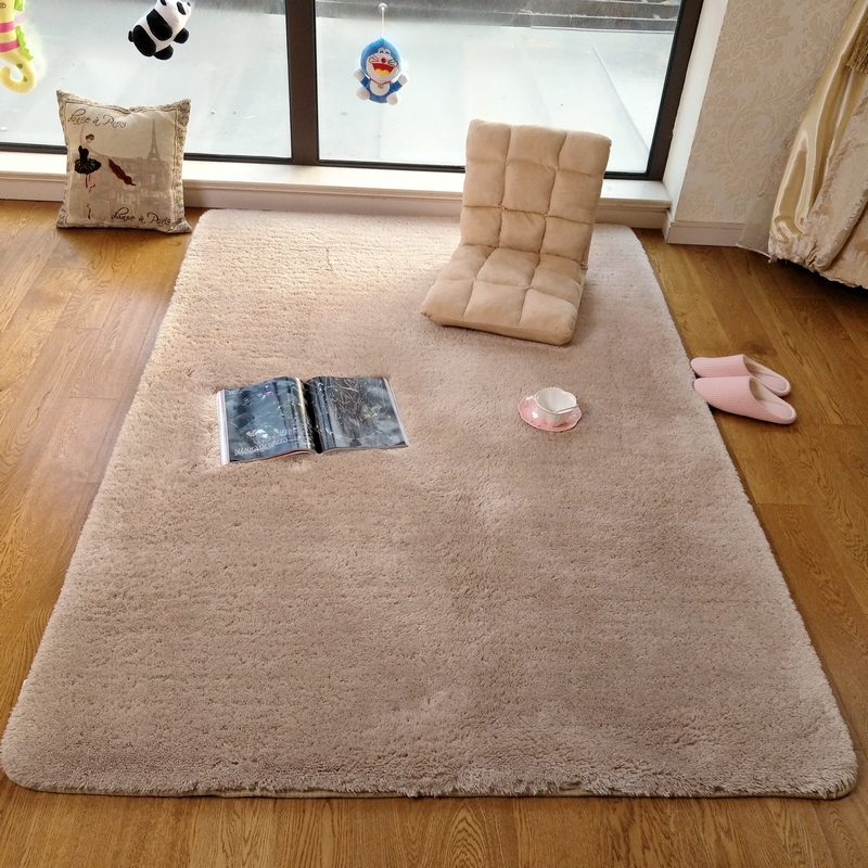 Washable fine wool undercoat carpet covered the encryption room table bed tatami mats to customize windows
