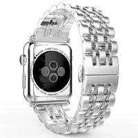 La BSN è watch/iWatch Mela Mela dell'Orologio di Acciaio inossidabile, braccialetto Longinus Sette Perle