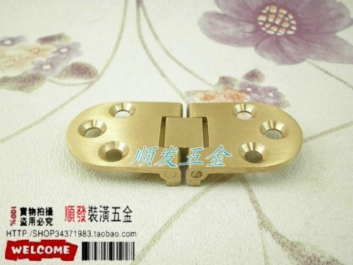 [full] cobre bronce el escritorio bisagra / cobre / plato plato bisagra bisagra / mesa plegable.