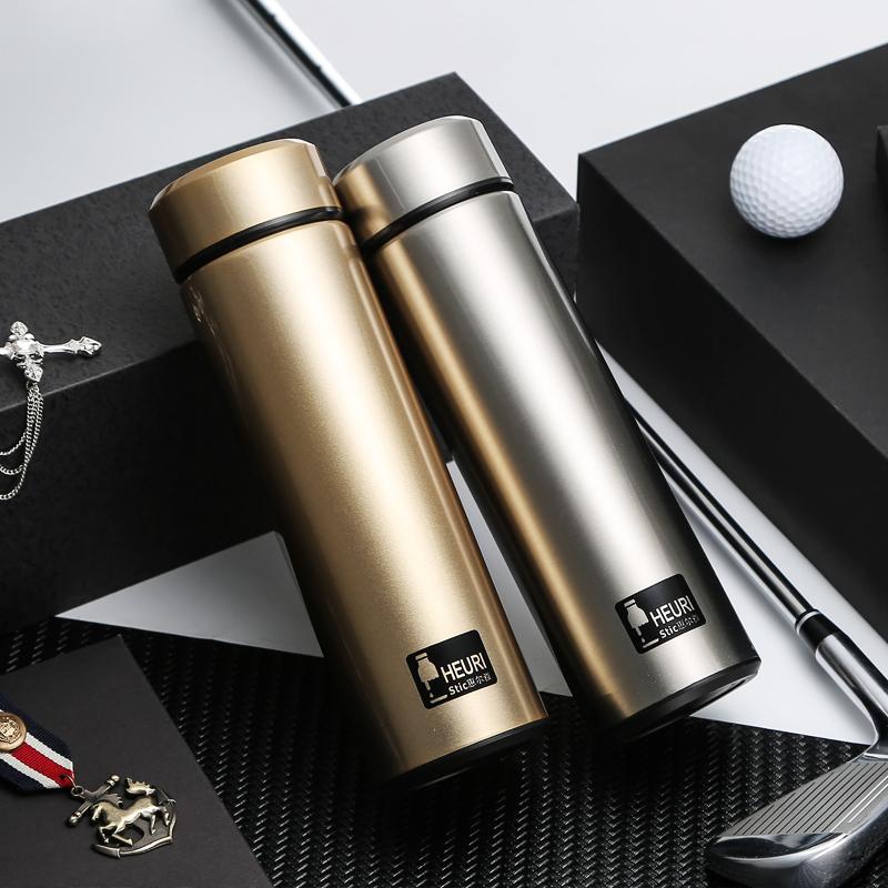 二重304ステンレス真空保温コップ直身杯420ml携帯アウトドア車載杯の男