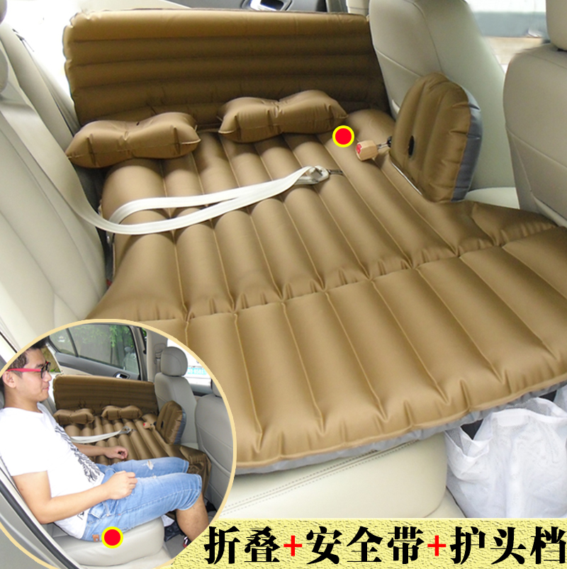 The car rear seat down after the boot SUV general trunk folding car car travel inflatable bed