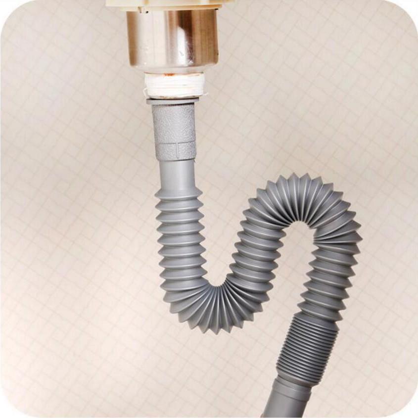 El tubo de drenaje y doblar tubos de agua del lavamanos lavamanos lavamanos de cuenca de drenaje de agua.