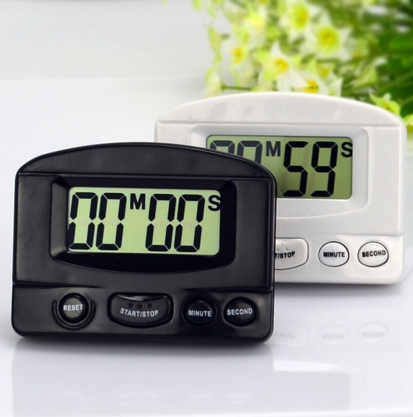 pakke post multifunktionelle positive og negative fortælling nedtælling ur stopur funktion køkken timing at minde ur - te butik