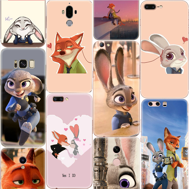 Crazy animal City fox rabbit tide Mito T8/m6s mobile phone shell M4 Jin s6/s8/s9/m5/m6plus