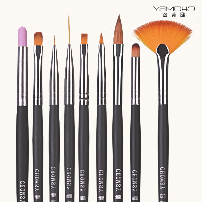 Nail brush tool kit, phototherapy pen, halo pen, color painting, flower pen, beginners, a full set of line pen