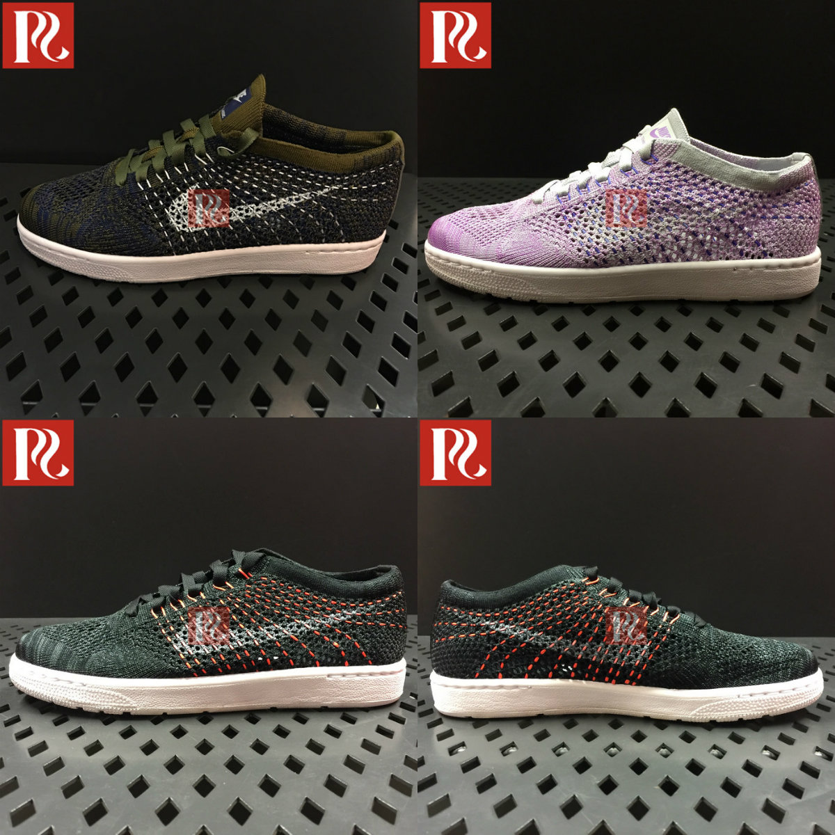 NIKE Nike genuine women's flying wire woven sports casual shoes 833860-301