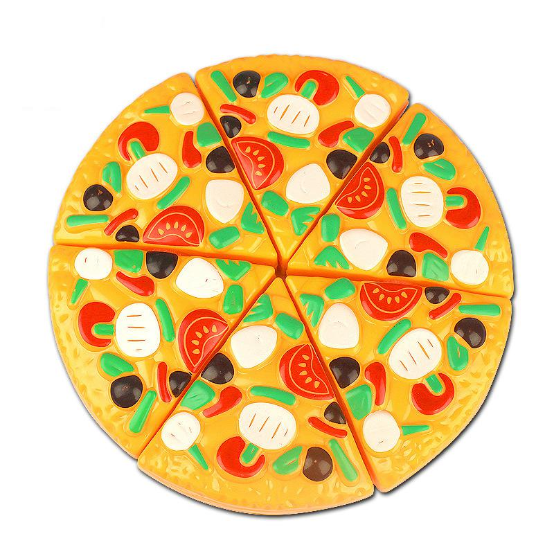 Delicious Cutting Pizza Toy Plastic Kitchen Pretend Play Foo