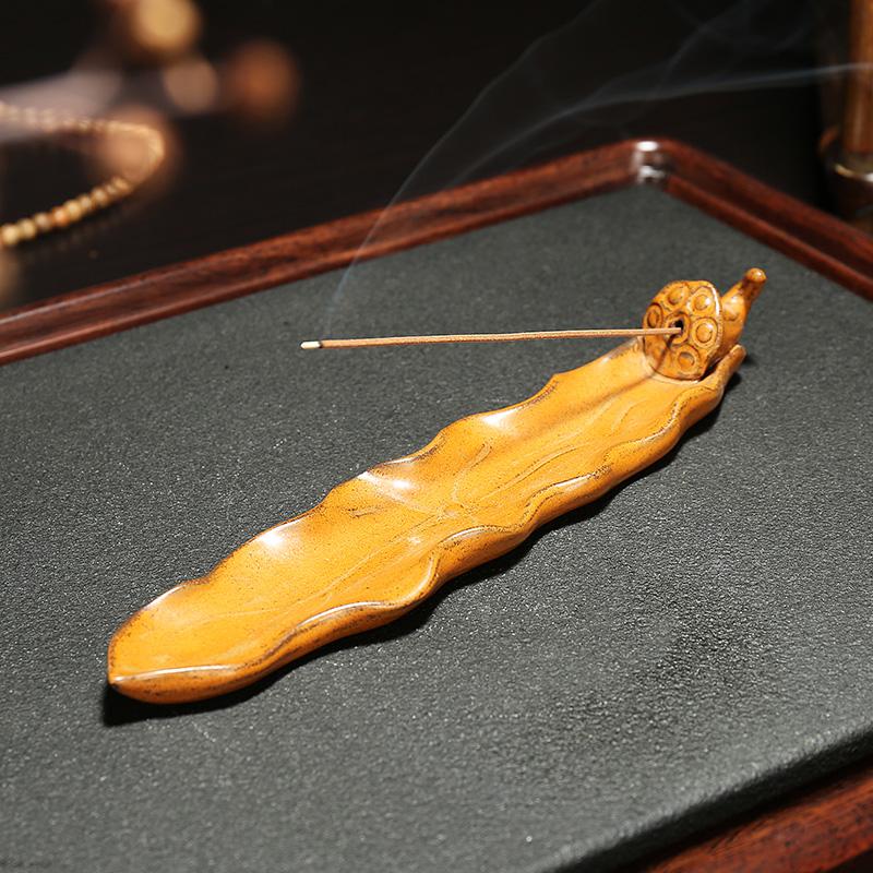 современный китайский дзен - керамические вспять кадило творческих домашнего декора и Ароматерапия печи старинное выветривание деревянные украшения