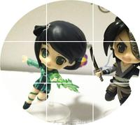 Legend of Sword and Fairy 6 version of the standard model is currently more / Q version doll in the legend surrounding for ten party