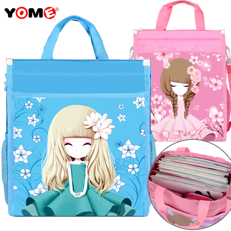 yome primary schooltas carry book bag kunst tas flower girl meisje make-up tas kind tutu tas meisje