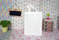 33*25*7CM spot blank non-woven fabric, gift bag, students can draw, paint, solid color packaging bags
