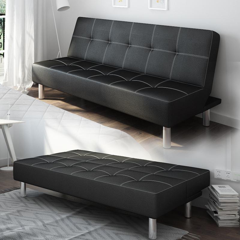 Το γραφείο του καναπέ κρεβάτι παράγραφο 1,8 m μικρό διαμέρισμα πτυσσόμενα διπλής χρήσης δέρμα ύλη τεμπέλης διπλό για τρεις ξύλο