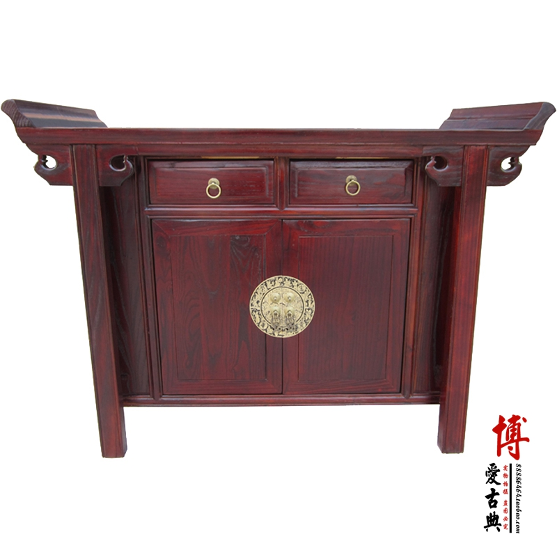 Antique Chinese solid wood furniture side cabinet multi-functional cabinet shoe cabinet in Ming and Qing Dynasty