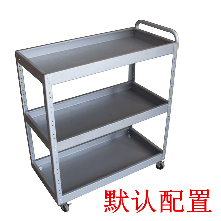 Larger type three layer vehicle multifunctional maintenance cart parts auto repair tool cabinet gold box