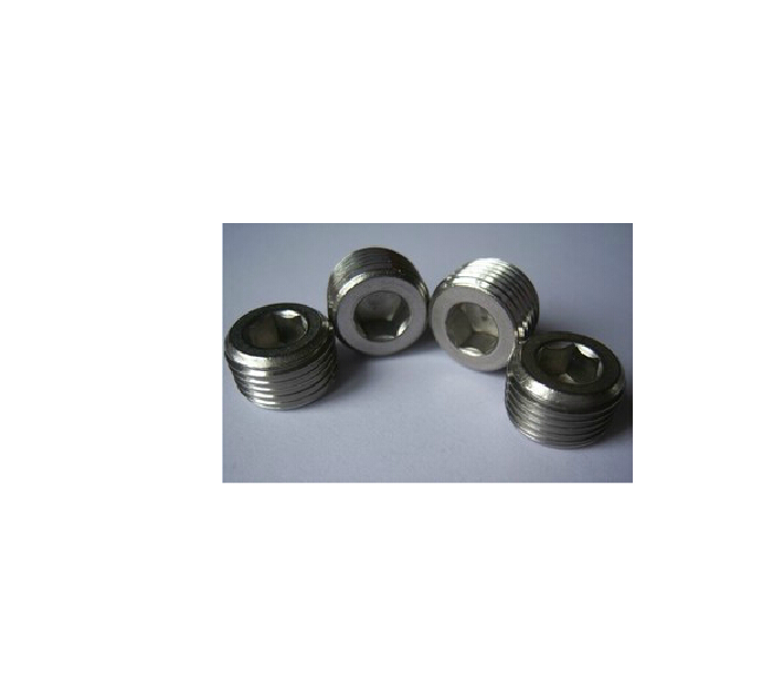 Manufacturers wholesale nickel plated pneumatic components, six corner plug 1 points, 2 points, 3 points, 4 points