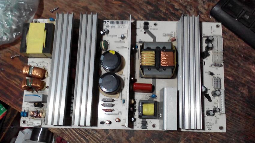 Demontage der Original - 47 - 55 Spiele - LCD - TV AYP449901REV1.0 Universal Power plate