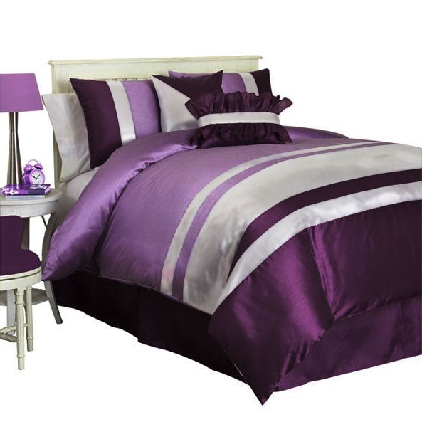 Juliet simulation silk bedding three / four joint foreign trade set single smooth and comfortable home