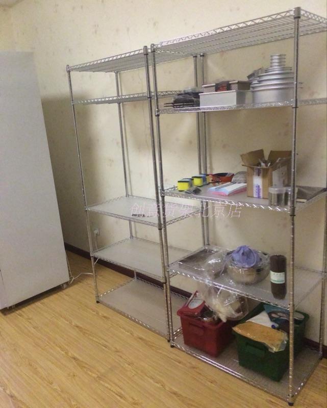 Cor personalizado aço inoxidável Cozinha rack forno rack flor pote varanda 5 camada de metal rack de armazenamento personalizado