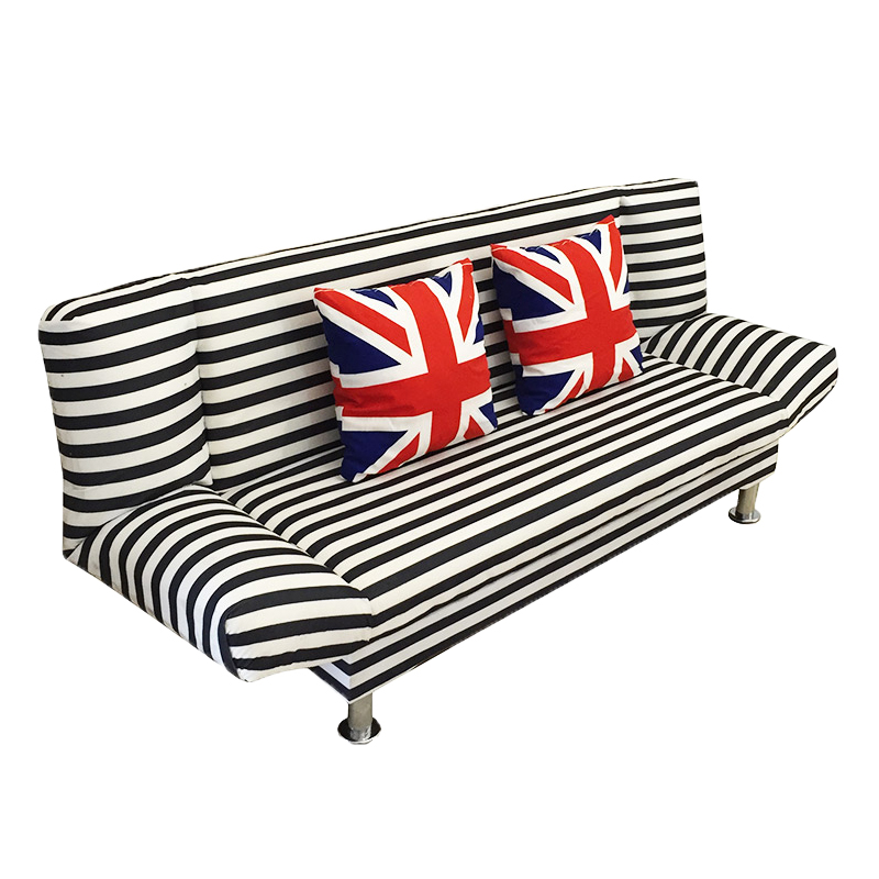 Economic sofa, bed type office, home living room, fabric simple small type, multi-functional double 1.5 meters home
